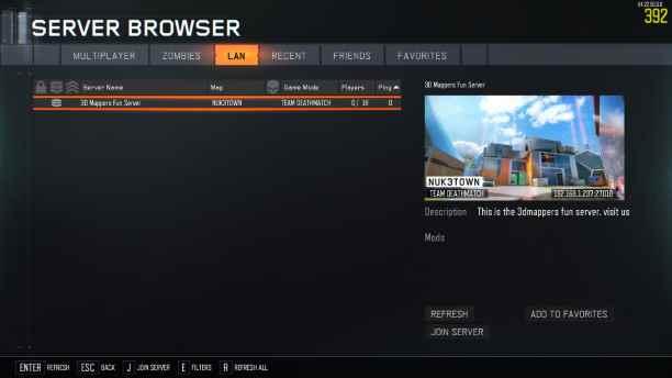 Black Ops III - Server Starter